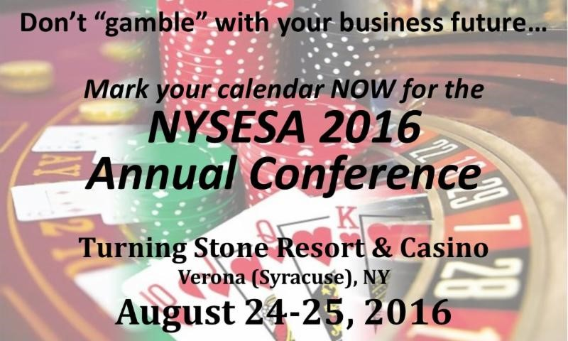 NYSESA Annual Conference is August 24th and 25th!